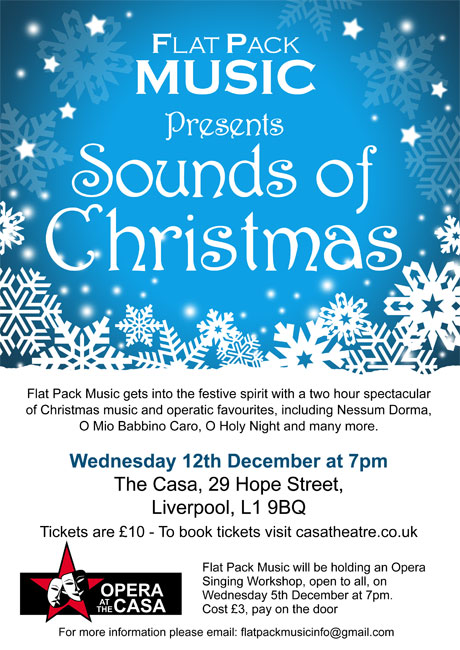 Sounds Of Christmas  U2013 Theatre At The Casa